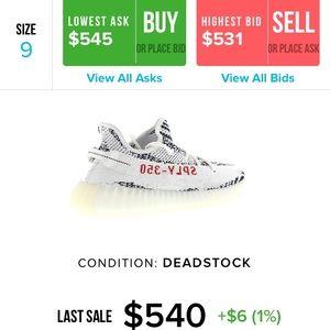 adidas Shoes - Adidas Yeezy Boost 350 V2 Zebra